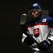 GRAND FORKS, NORTH DAKOTA - APRIL 21:  Slovakia's Martin Krempasky #11 walks to the ice prior to a game against Sweden during quarterfinal round action at the 2016 IIHF Ice Hockey U18 World Championship. (Photo by Matt Zambonin/HHOF-IIHF Images)