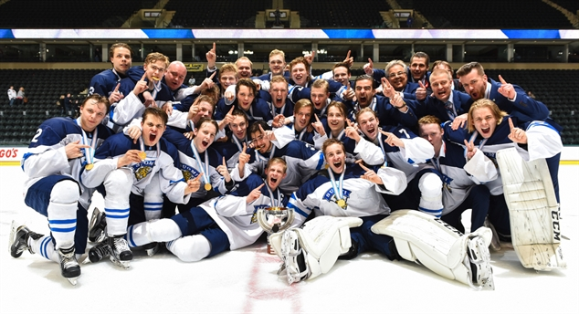 Finns golden in Grand Forks